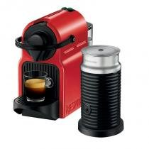 Máquina de Café Nespresso Inissia 110V Vermelha com Aeroccino - nespresso
