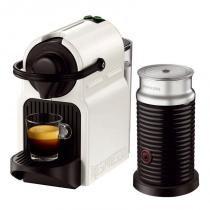 Máquina de Café Nespresso Inissia Branca 220v com Aeroccino Refresh - nespresso