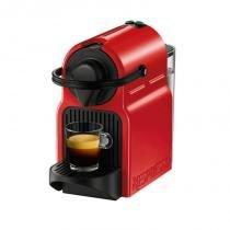 Máquina de Café Nespresso Inissia Vermelha 110v com Desligamento Automático - nespresso