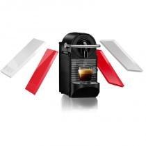 Máquina de Café Nespresso Pixie Clips 110v Branca e Coral Neon com Desligamento Automático - nespresso