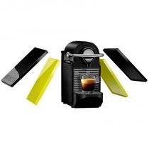 Máquina de Café Nespresso Pixie Clips 110V Preto e Limão Neon com Desligamento Automático - nespresso