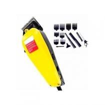 Maquina de cortar cabelo qirui cortador de cabelo homecut com 14 acessorios 127v - Gimp