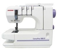 Máquina de Costura Doméstica Galoneira (Colarete), Janome - 1000CPX - Janome