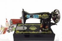 Máquina de Costura Doméstica Reta Pretinha c/ Base Simples, Tipo 15C - Fox