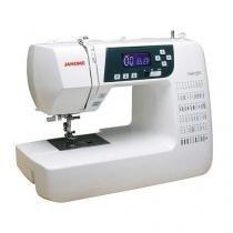 Máquina de Costura Eletrônica, Bivolt, Costura decorativa e personalizada quilting e patchwork - Jan - Janome