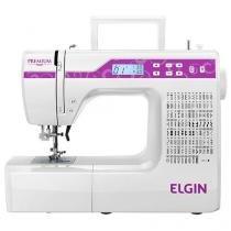 Máquina de Costura Elgin 41JX10000EU0 - Eletrônica 100 Pontos com Painel LCD