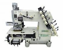 Máquina de Costura Industrial 4 Agulhas Ponto Corrente Bracob BC 04085P/VWL - Bracob
