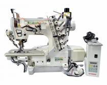 Máquina de Costura Industrial Galoneira c/ Direct Drive, 3 Agulhas, 5 Fios, AT/EUT, 5000rpm, BC60035 - Bracob
