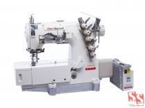 Máquina de Costura Industrial Galoneira c/ Direct Drive, 3 Agulhas, 5 Fios, Lubrificação Automática, SS-500DJ-01-GB - Sun Special