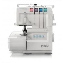 Máquina de costura overlock 1000 elgin 110v - Elgin