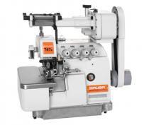 Máquina de Costura Overlock Industrial, Ponto Cadeia, 2 Agulhas, 4 Fios, Lubrif. Automática, 7000ppm, 747K/LFC - Siruba