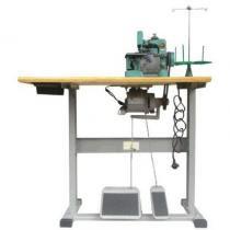 Máquina de Costura Overlock Semi-Industrial c/ Motor Grande+Mesa, Transp. Simples, 1 Agulha, 3 Fios, 3000ppm, Ponto Corrente, Lubrif. Manual, MKGN16D - Megamak