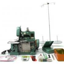 Máquina de costura overlock semi-industrial portátil - Faciltec