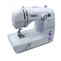 Máquina de Costura Portátil, Bivolt com 30 Pontos e Painel eletrônico - Costura Reta e Zig Zag - Westpress -