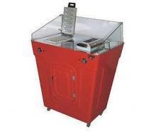 Máquina de crepe crepeira dupla com gabinete - Warm