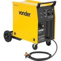 Maquina de solda mig mag 300a 220/380/440 volts trifásica cabeçote interno sem acessórios mm305 - Vonder -