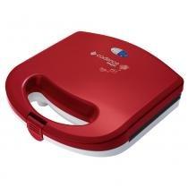 Máquina de waffle cadence vermelha 110v - Cadence