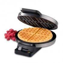 Máquina de Waffle Cuisinart 110V WMR-CA em Aço Escovado -