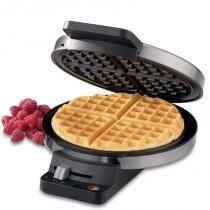 Máquina de Waffle Cuisinart WMR-CA 220V Aço Escovado -