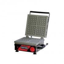 Máquina De Waffle Quadrada Simples 1800W 127V Mwqs-1 Croydon -