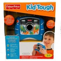 Máquina Fotográfica Digital Kid Tough Azul Fisher-Price - Mattel - Fisher Price