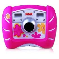 Máquina Fotográfica Digital Kid Tough Rosa Fisher-Price - Mattel - Fisher Price