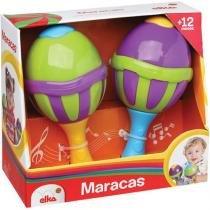Maracas Com Sons Elka - Elka
