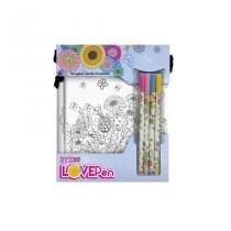 Marcadores Lovepen - Kit com 4 Canetas e 2 P. Cel - F01 - Yes