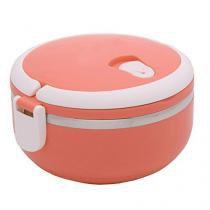 Marmita Lunch Box Aço inox Térmica 700ML com Vedação - Ab wheel
