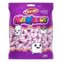 Marshmallow MaxMallows Twist Roxo e Branco 250g - Docile -