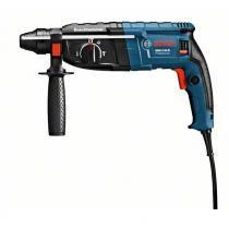 Martelete perfurador e rompedor 220V 820W GBH 2-24D com maleta azul Bosch -