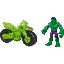 Marvel Super Hero Hulk With Bike  - Hasbro