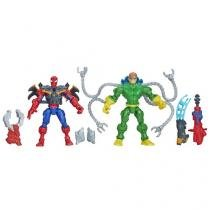 Marvel Super Hero Mashers - Sipder-Man vs Doc Octopus - Hasbro
