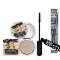 Mary Lou Manizer + Whats your type The Balm - Kit Iluminador Facial + Máscara para Cílios - The Balm