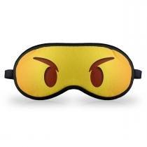Máscara de Dormir em neoprene - Emoticon Emoji Bravinho - YAAY