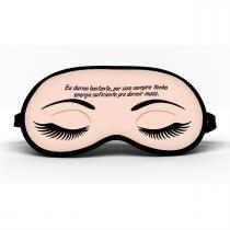 Máscara de Dormir Eu Durmo Bastante - Mf imports