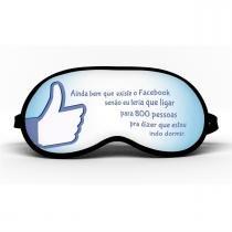 Máscara de Dormir Facebook 4 - Mf imports