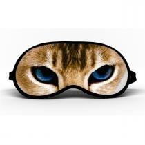 Máscara de Dormir Gato Olho Azul - Mf imports