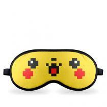 Mascara de Dormir Pokemon Pikachu - Amarelo - Único - Gorila Clube