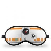 Mascara de Dormir Robo BB8 Star Wars Faces - Laranja - Único - Gorila Clube