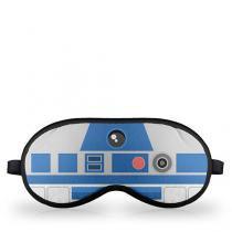 Mascara de Dormir Robo R2D2 Star Wars Faces - Azul - Único - Gorila Clube
