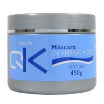 Máscara de Hidratação Semi Di Lino Efeito Liso Colágeno 450g - Kiquis -
