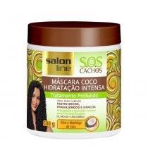 Máscara de tratamento salon line s.o.s cachos coco 500g - Salon line