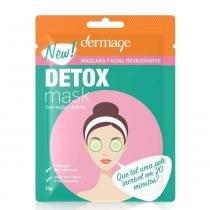 Máscara Facial Revigorante Detox Dermage Sachê 10g - DERMAGE