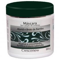 Máscara hidratação queda de cabelo alumã e broto de bambu 500 gramas. - Crescenew