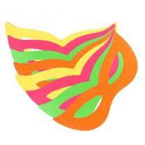 Máscara Holográfica Gatinha Metalizada Sortidas - Aluá festas