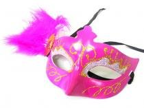 Mascara Kit 5 Unidades  De Luxo Gala Carnaval Fantasia Festa Evento (6151-21) - Braslu