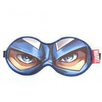 Máscara para Dormir Capitão América Quadrinhos Marvel - Azul - Único - Gorila Clube