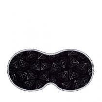 Máscara para Dormir Diamantes - Preto - Único - Gorila Clube