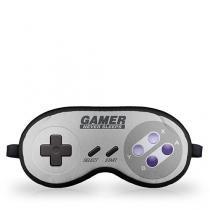 Mascara para Dormir Gamer Joystick 16-bits - Cinza - Único - Gorila Clube